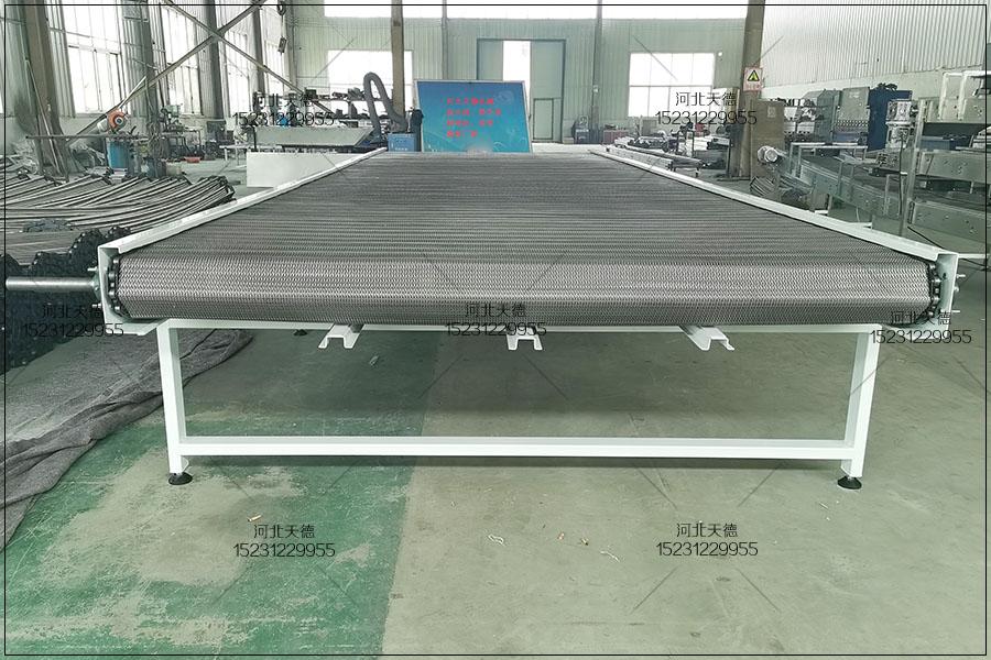 楚雄彝族自治州速冻韭菜丁小型流水线网带输送...