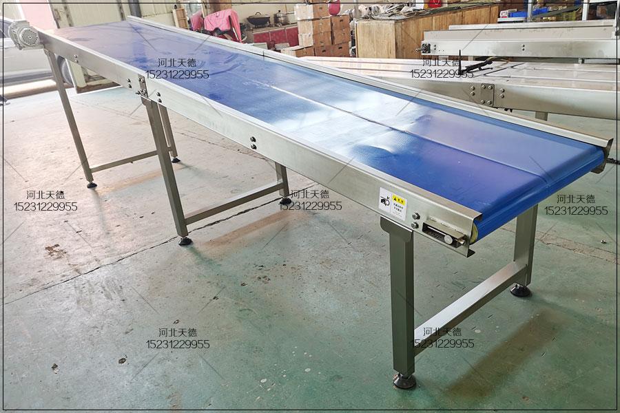 福建豆腐输送线皮带输送机特点
