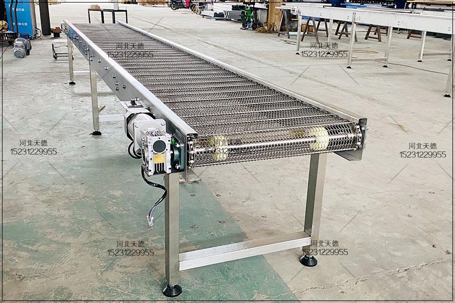 高温金属链条式支轴链输送机升...