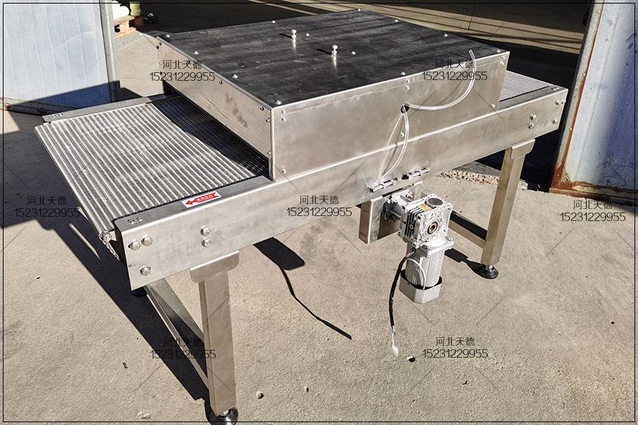 烤鸭脖生产线网带输送线传送机