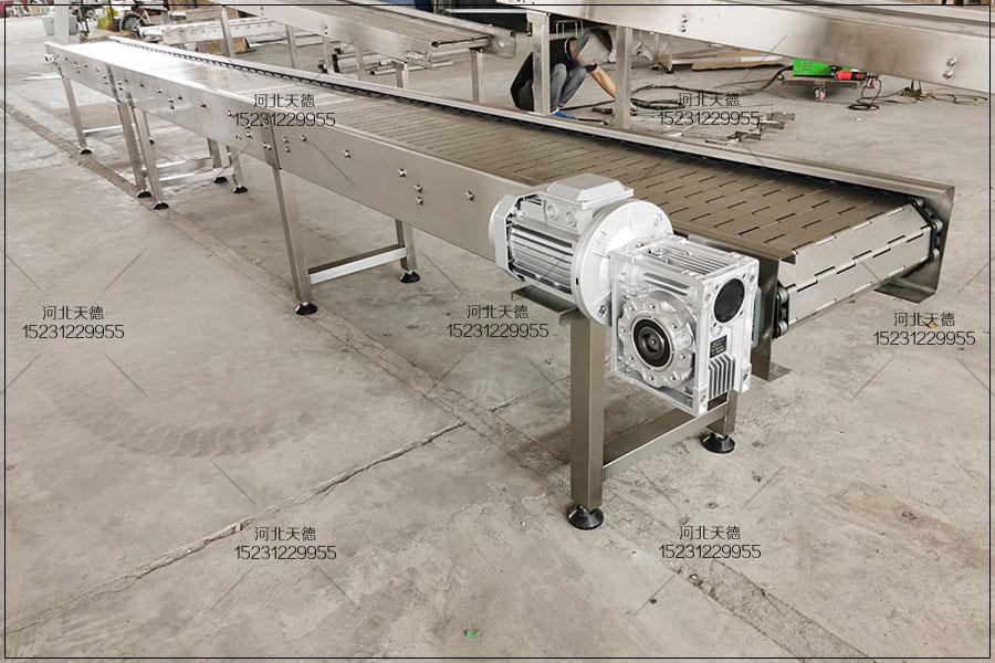 铸件酸洗流水线链板输送机