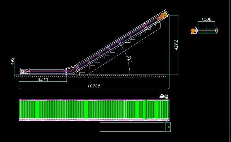 自动化流水线爬坡下载首页机定制案例